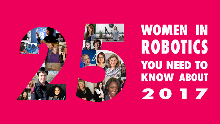 One of Robohub's 25 women in robotics you should know about
