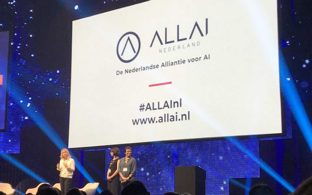 Launch of the Netherlands AI Alliance (ALLAI)